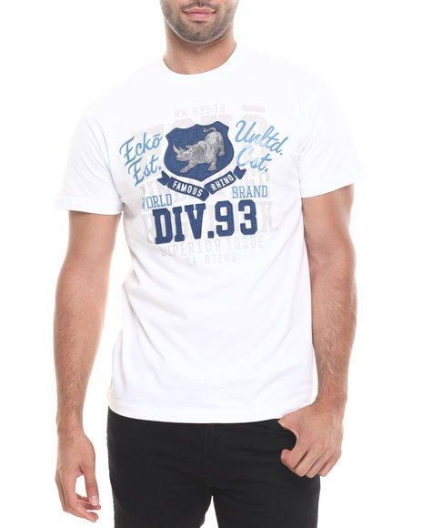 Ecko - Men White Div 72 Better Tee
