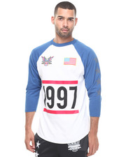 Men - Dipset USA 1997 Baseball Raglan Tee