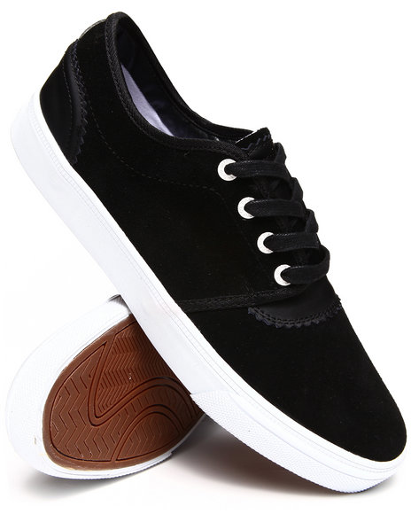 Diamond Supply Co Black Premiere Black Suede Sneakers