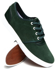 Diamond Supply Co - Premiere Green Suede Sneakers