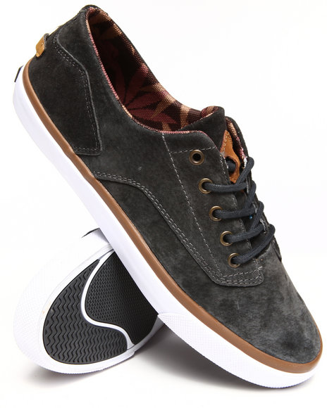 Radii Footwear - Men Charcoal Axel Sneakers