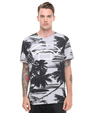 -FEATURES- - Palm Camo Tee