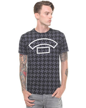G-STAR - Houndstooth Allover Tee