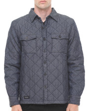WESC - QUILTED SHIRT JACKET