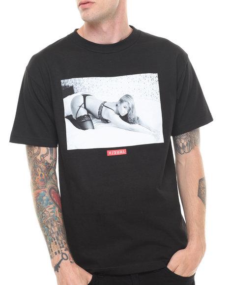 Visual by Van Styles Black Visual By Van Styles Reach Tee