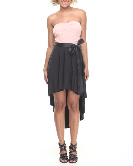 Fashion Lab - Emily Strapless Hi-Lo Dress