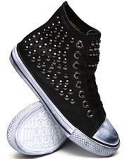 Penny Sue - Corporal Studded Canvas Sneakers