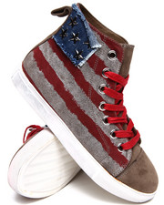 Penny Sue - Country Canvas Hi Sneakers