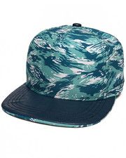 Men - Camo Glow Strapback Hat