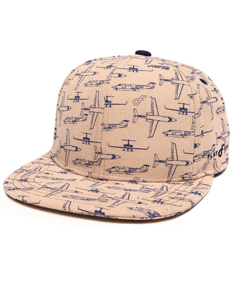 Buyers Picks Men Flight Recorder Snapback Hat Tan - $13.99