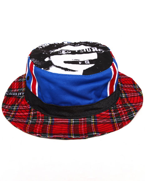 Buyers Picks Men No Future Bucket Hat Multi Large/X-Large - $11.99