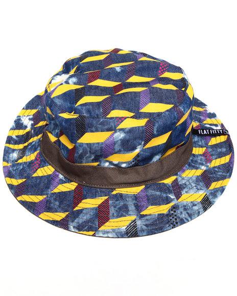 Buyers Picks Men F Stop Bucket Hat Blue Large/X-Large - $13.99