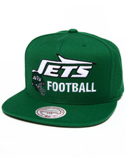 Men - WOOL JETS NFL SNAPBACK CAP