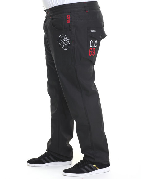 COOGI Black Nostalgic Sport Denim Jeans (Big & Tall)