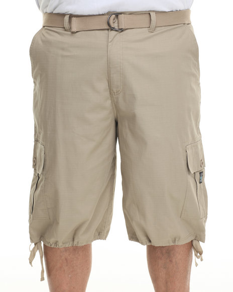 Enyce Khaki Yosemite Cargo Short (Big & Tall)