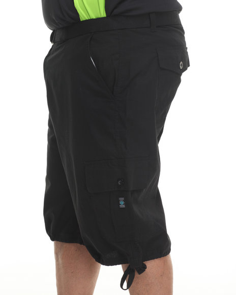 Enyce Black Yosemite Cargo Short (Big & Tall)