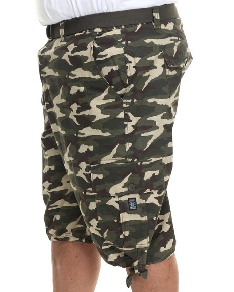 Enyce - Men Camo Yosemite Cargo Short (B&T)