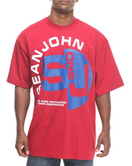 Sean John Red Sj One S/S Tee