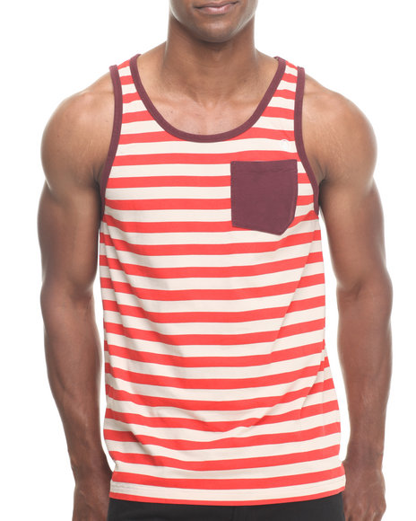 Volcom Maroon Submissions Tank