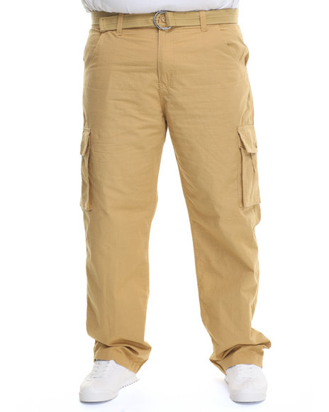 Rocawear Khaki Cargo Trooper Ripstop Pants (Big & Tall)