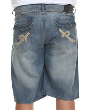 Rocawear - R Flap Denim Shorts (B&T)