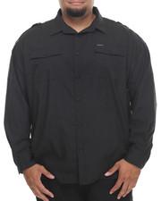 Rocawear - All Black L/S Button-down (B&T)