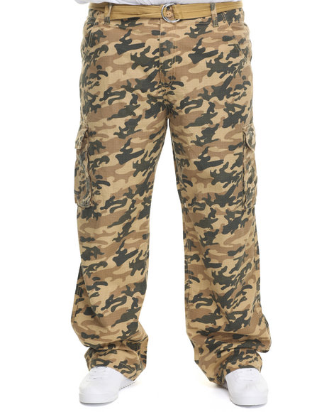 Rocawear Camo Cargo Trooper Ripstop Pants (Big & Tall)