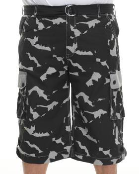 Rocawear - 5 Boro Camo Ripstop Blueprint Cargo Shorts (B&T)