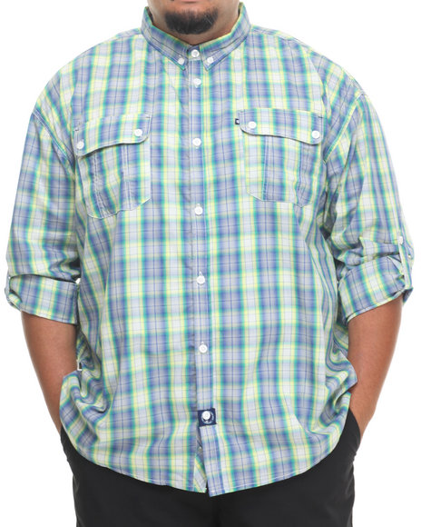 Rocawear - Global Warming L/S Button-down (B&T)