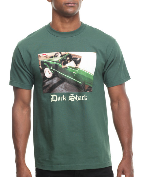 Odd Future Apparel Green Dark Shark Rollin Tee
