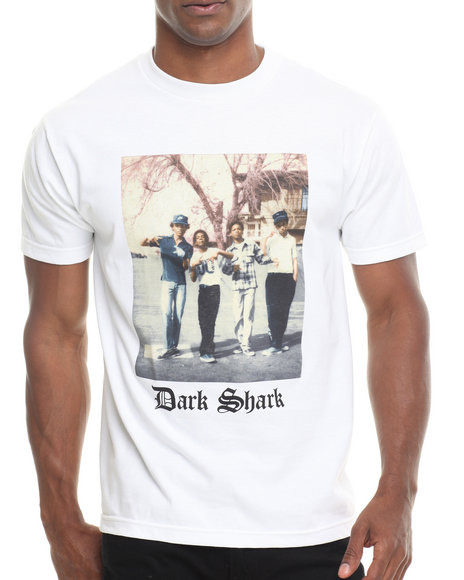 Odd Future Apparel - Men White Dark Shark Posse Tee