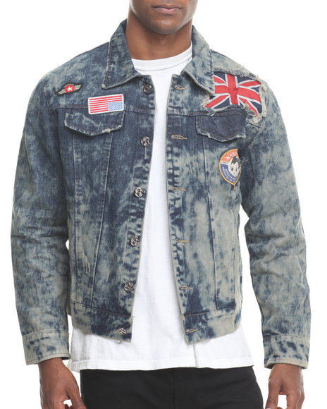 Hudson NYC Dark Wash Ziki Men's Denim Jacket