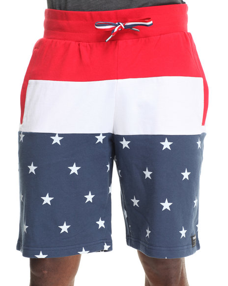 TRUKFIT Blue,Red,White Freedom Short