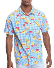 Short-Sleeve - Musty Burger Woven Shirt