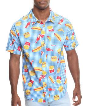 Odd Future Apparel - Musty Burger Woven Shirt