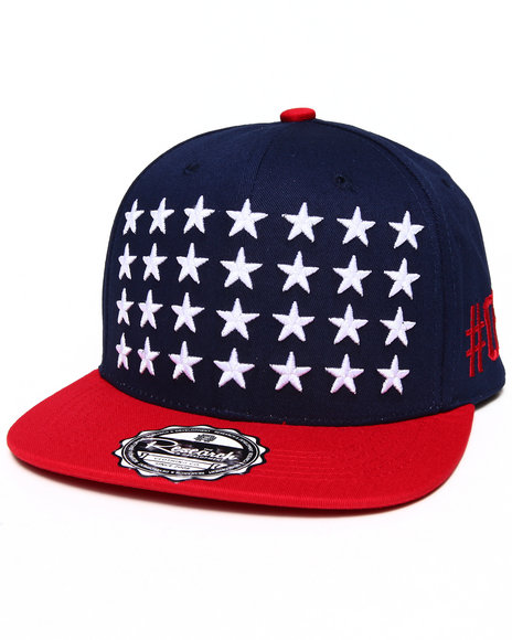 Buyers Picks Men All Stars Snapback Hat Multi