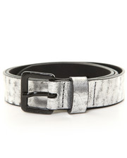 -FEATURES- - Bosilv Silver Foil Belt