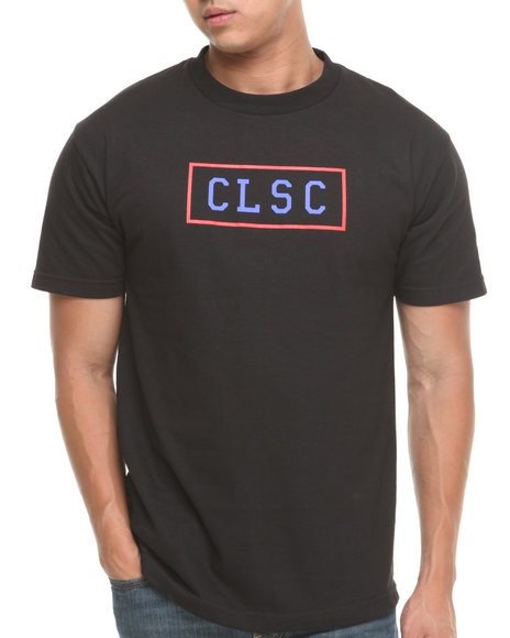 CLSC Black Bar Logo Tee
