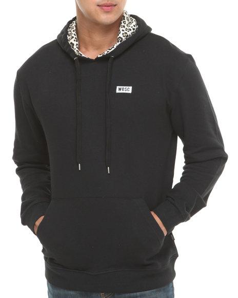 WESC Black Spotted In The Hood Hoodie