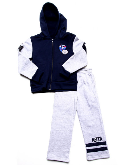 Mecca - 2 PC HOODY AND SWEATPANT SET (4-7)