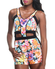 Women - Teen Daisees Romper