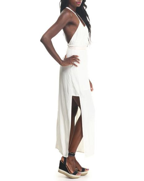 MINKPINK White Edge Of Glory Maxi Dress