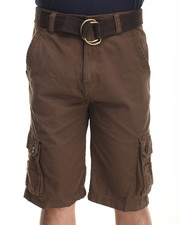 Basic Essentials - BELTED CARGO SHORT