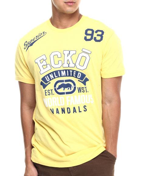 Ecko - Men Yellow Superior Better Tee