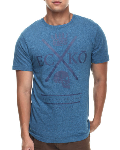 Ecko - Men Blue King Crossing Tee
