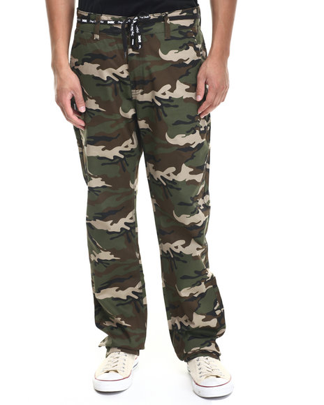 DGK Camo Working Man 3 Chino Pants