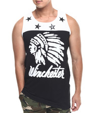 Men - Winchester Chief's Head Tank Top