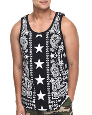 Men - Bandana N Stars Tank top