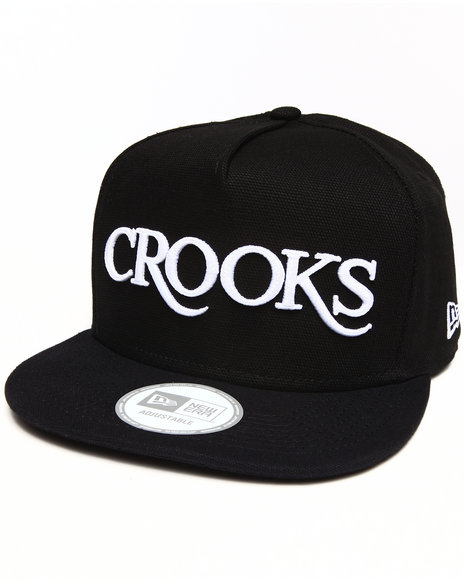 Crooks & Castles Thuxury Strapback Black