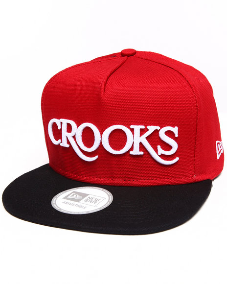 Crooks & Castles Thuxury Strapback Red